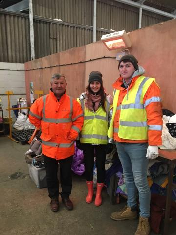 chloe-wright-visits-salvation-army-warehouse-waste-textiles-sustainable-fashion