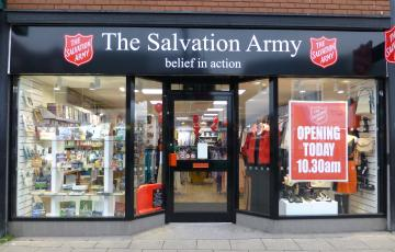 Salvation Army opens doors to new Hartlepool charity shop