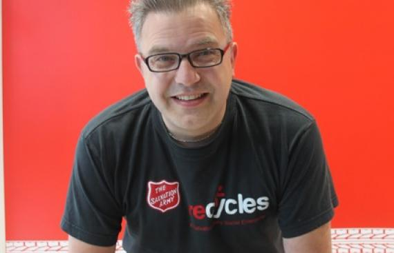 Homeless man in Swindon finds work as a cycle mechanic